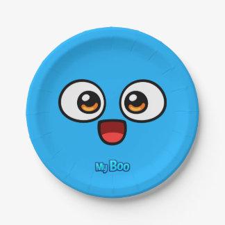 Boo Paper Plate