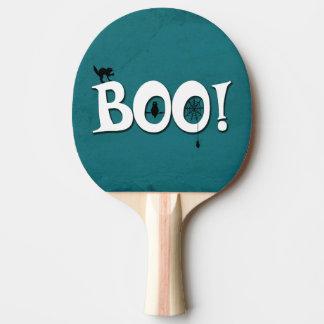 Boo! Ping Pong Paddle