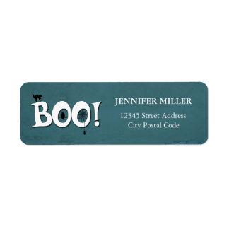 Boo! Return Address Label