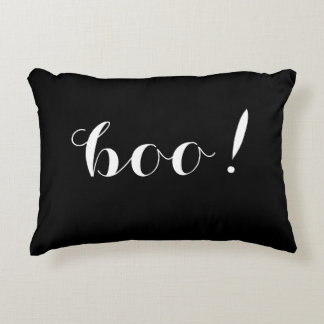 Boo! & Spooky Double Sided Halloween Pillow
