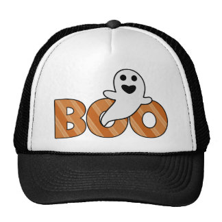 BOO Spooky Halloween Trucker Hat