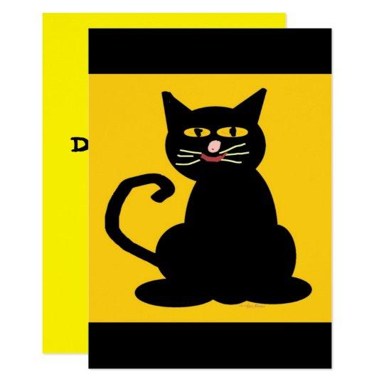 Boo The Cat Card