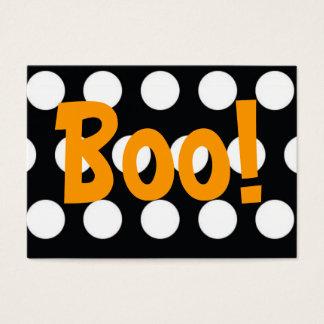 Boo! Treat Bag Tag Business Card