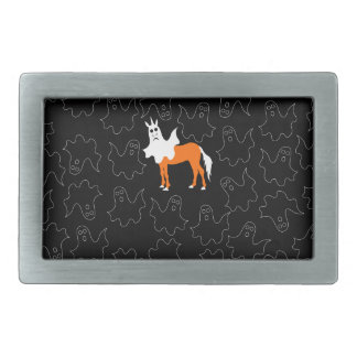 Boo Unicorn Belt Buckles