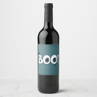 Boo! Wine Label