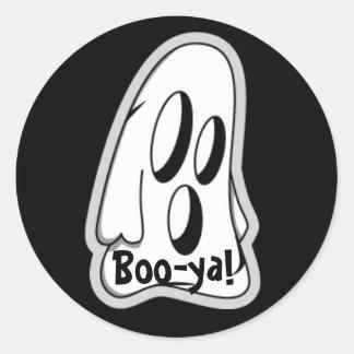 Boo-ya Halloween Sticker