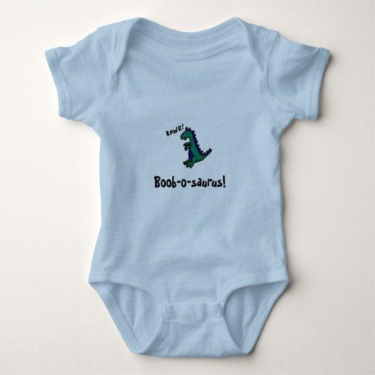 Boob-o-saurus! Baby Bodysuit