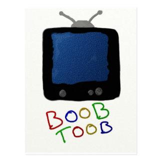 BOOB TOOB POSTCARD