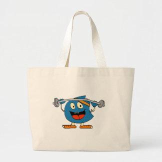 boober workout tote bag