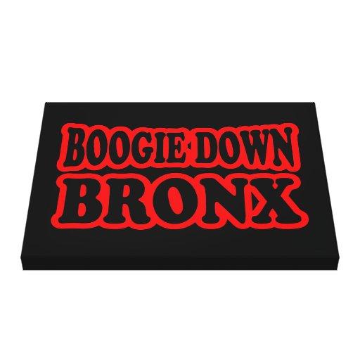 Boogie Down Bronx Canvas Prints