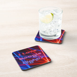 Boogie Nights and Disco Lights 1 Beverage Coaster