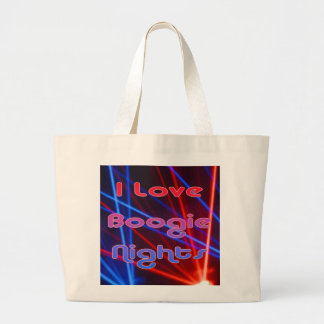 Boogie Nights and Disco Lights 1 Large Tote Bag