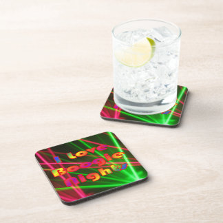 Boogie Nights and Disco Lights 2 Beverage Coaster