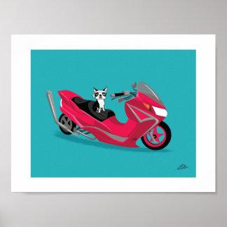 Boogie on Suzuki Poster