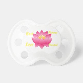 BooginHead® Best Flower Ever Custom Pacifier