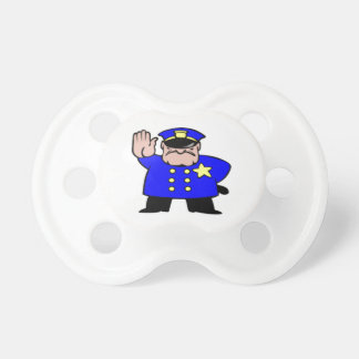 BooginHead® No Kiss Officer Custom Pacifier