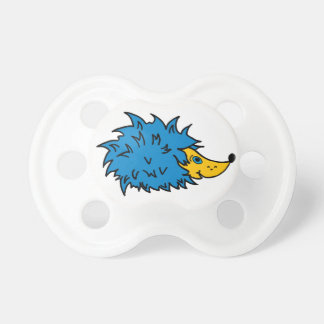 BooginHead Pacifier with funny hedgehogs