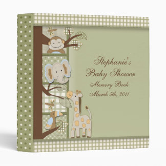 book2, Stephanie's, Baby Shower, Memory BookMar... Vinyl Binder