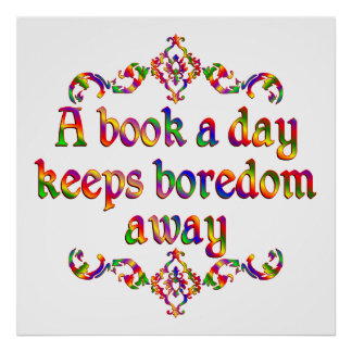 Book a Day Poster