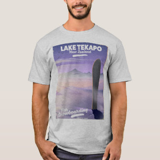 book a trip today lake Tekapo New Zealand T-Shirt