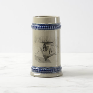 Book And Beer Beer Stein