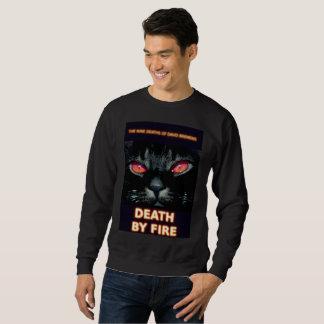 Book Art by K.D. Kromminga--Death by Fire Sweatshirt