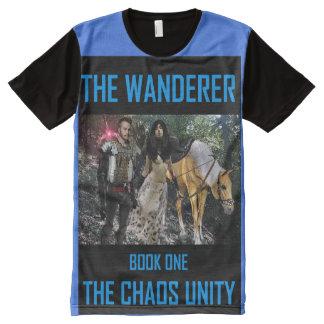 Book Art by K.D. Kromminga--The Wanderer All-Over-Print T-Shirt