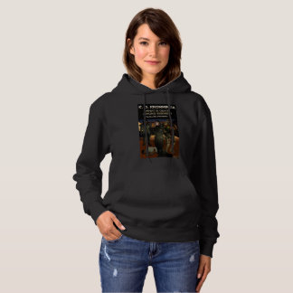 Book Art by K.D. Kromminga--What is Death Among... Hoodie