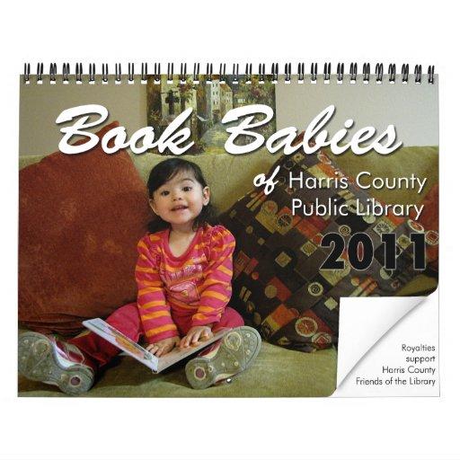 Book Babies Wall Calendar