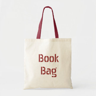Book bag - let everyone know what you're carrying.