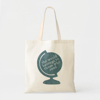 Book Bag World Belongs to Those who Read Blue