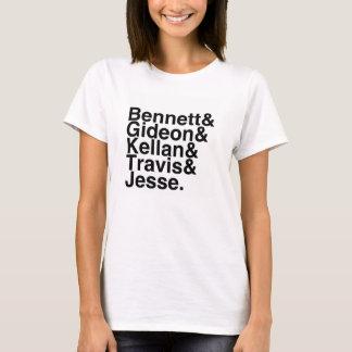 Book Boyfriend- Bennett, Gideon, Kellan, Travis... T-Shirt