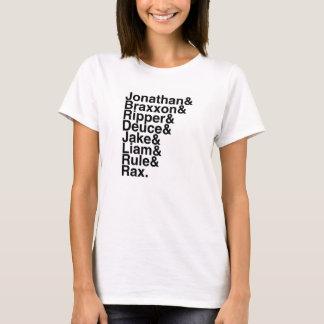 Book Boyfriend- Jonathan, Braxxon. Ripper, Deuce.. T-Shirt