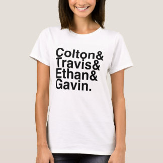 Book Boyfriends — Colton Travis Ethan Gavin T-Shirt