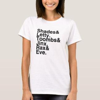Book Boyfriends/Girlfriends- S&L, T&J, R&E T-Shirt