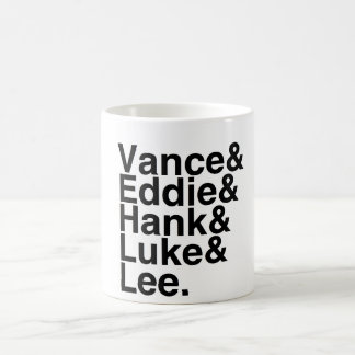 Book Boyfriends — Vance Eddie Hank Luke Lee Coffee Mug