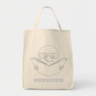 Book Buddies Custom Grocery Tote