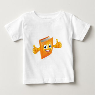 Book Cartoon Character Baby T-Shirt