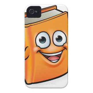 Book Cartoon Character Mascot Case-Mate iPhone 4 Case
