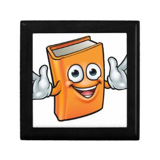 Book Cartoon Character Mascot Gift Box