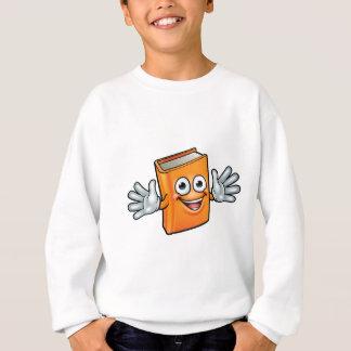 Book Cartoon Character Mascot Sweatshirt