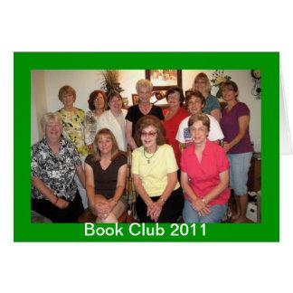 Book Club Card
