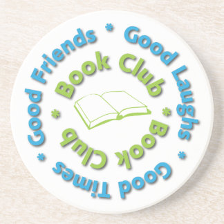 book club coaster