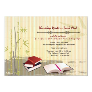 Book Club Gathering Invitation