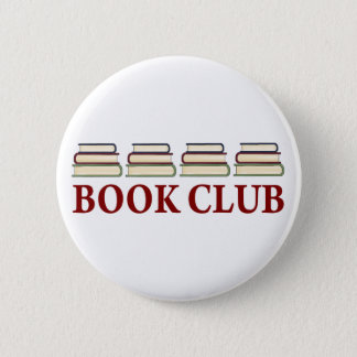 Book Club Gift For Readers 2 Inch Round Button