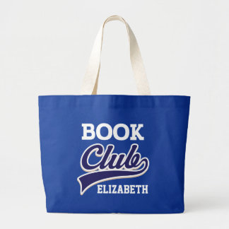 Book Club Personalized Reading Tote Bag Gift