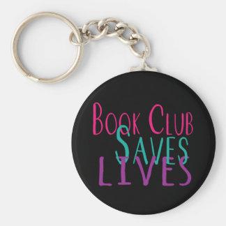 Book Club Saves Lives Keychain