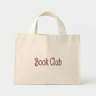 BOOK CLUB TINY TOTE