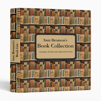 Book Collection - Library Binder