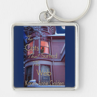 Book Cover Art Keychain